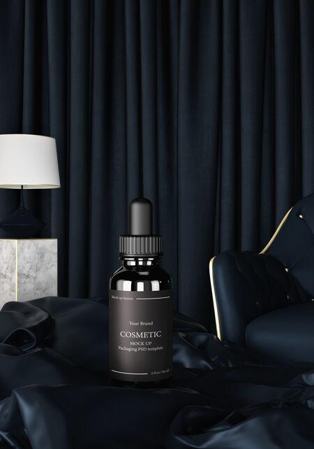 护肤保湿化妆品渲染