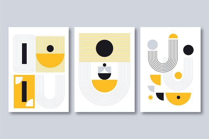 平面抽象艺术封面收藏