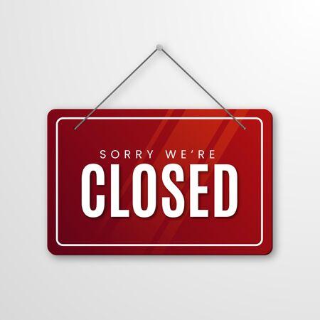 对不起 我们的招牌已经关闭了